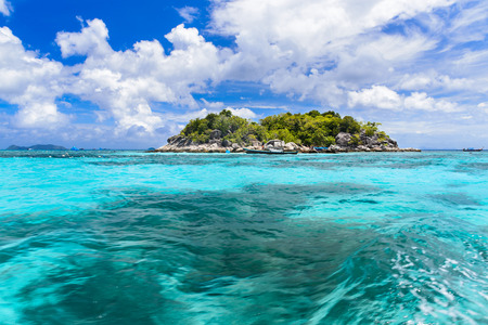 Lipe island ,paradise island in Thailand,clear water blue sky