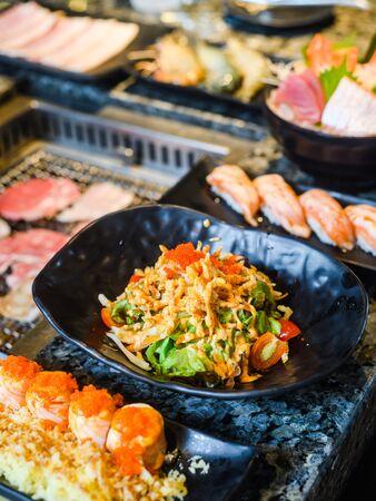 japanese traditional food ,salad