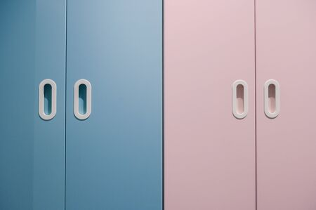 minimalism ,close-up empty door pastel tone,copyspace