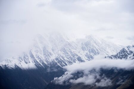 beautiful mountain in nature landscape view from Pakistan