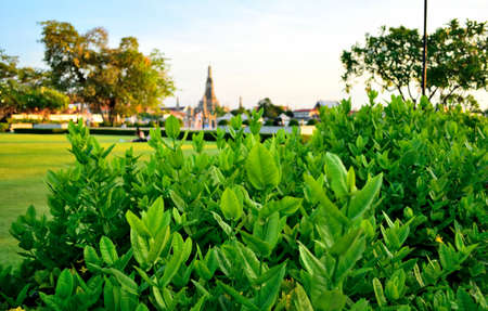 Nagaraphirom Park - Wat Arun photo