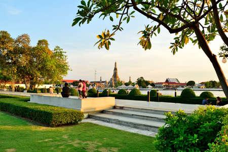 wat arun: Nagaraphirom Park - Wat Arun
