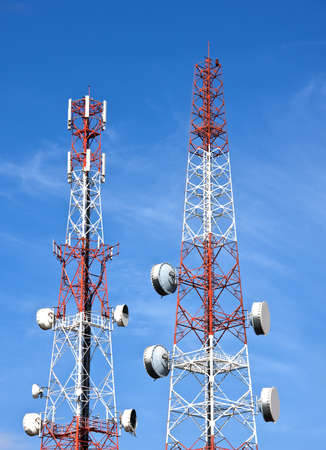 Telecommucications towers photo