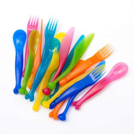 Colorido utensilio de pl�stico