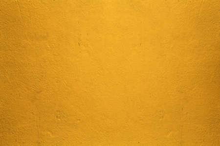Muro de hormig�n de color amarillo