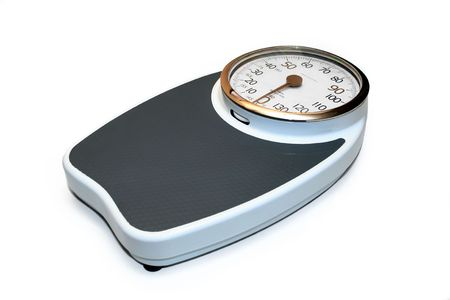 Professional weight scale, dial capable of up to 180 kilograms.