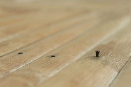 isaan: Metal Nail and Siding Wood
