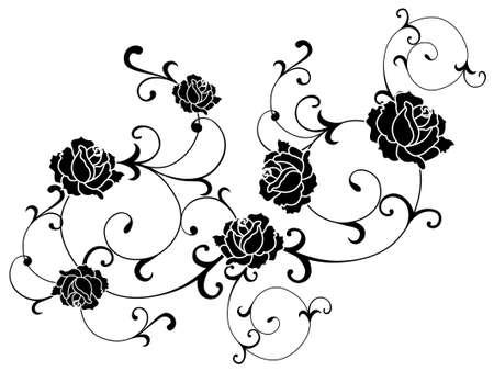 tattoo rose: rose tattoo