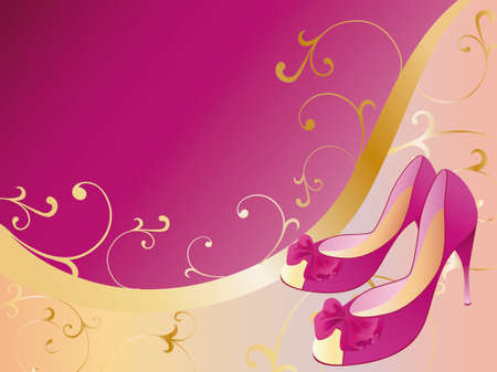 style shoes Illustration