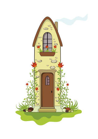old cottage  Stock Vector - 8096990