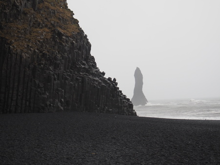 basalt: Basalt Seascape Stock Photo
