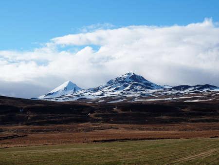 icelandic: Icelandic Peak Stock Photo