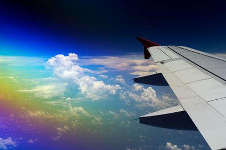 Rainbow wing photo
