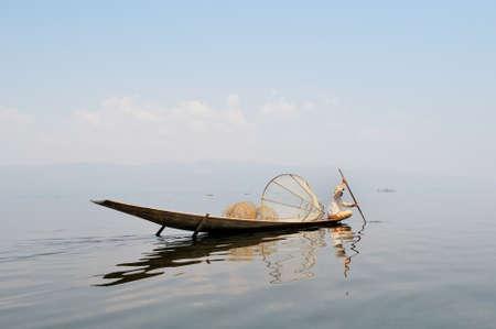 Traditional Fisherman Stock Photo