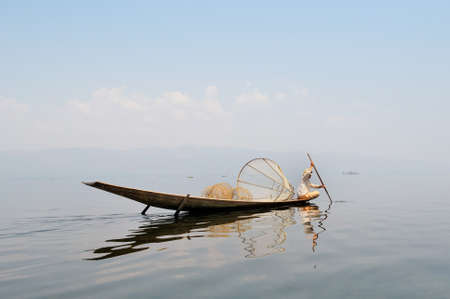 Traditional Fisherman Stockfoto