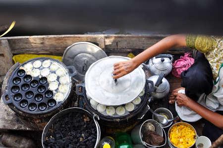 sweetmeat: Thai sweetmeat on floating market