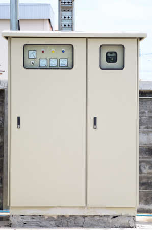 Outdoor type of Main Distribution Board