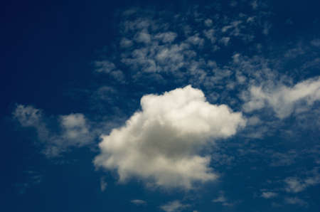 soul searching: Beautiful Clouds  in cloudscape Stock Photo