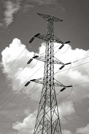 sub station: Electric Power transmission lines