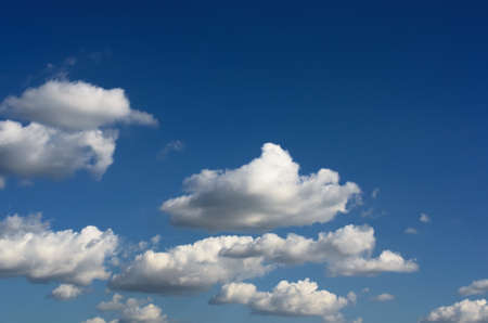 Beautiful Clouds  in cloudscape Stock Photo