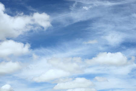 Beautiful Clouds  in cloudscape with the blue sky
