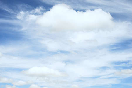 soul searching: Beautiful Clouds  in cloudscape with the blue sky