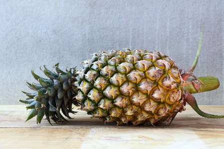 Closeup of Pineapple