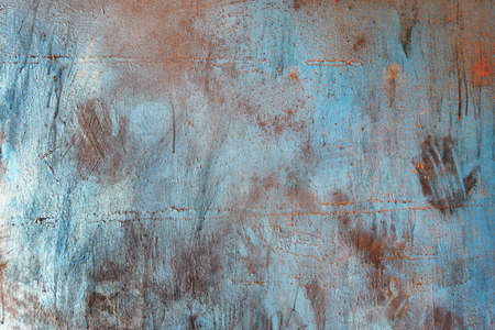 Old metal plate texture background