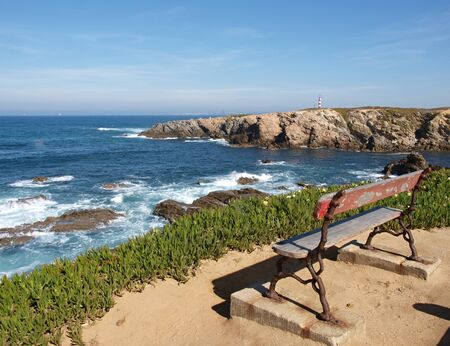 west  coast: West coast at Porto Covo Stock Photo