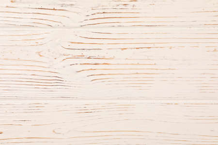 White rustic wooden background. Texture for your design. Close up