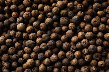 Peppercorns texture background, close up. Wallpaper for design