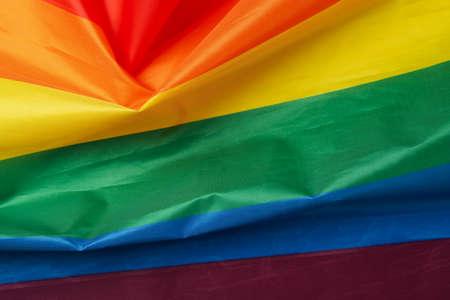 LGBT rainbow or flag on whole background