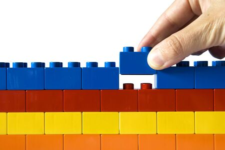 Construction the wall Stock Photo - 10290098
