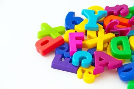 Háttérképét mágneses betűk