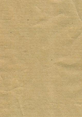 oude krant: orrugated kartonnen achtergrond Stockfoto