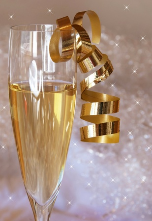 Champagne glass Stock Photo - 10304048