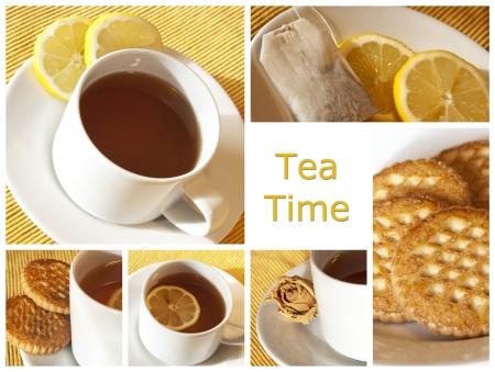 tea time - collage photo