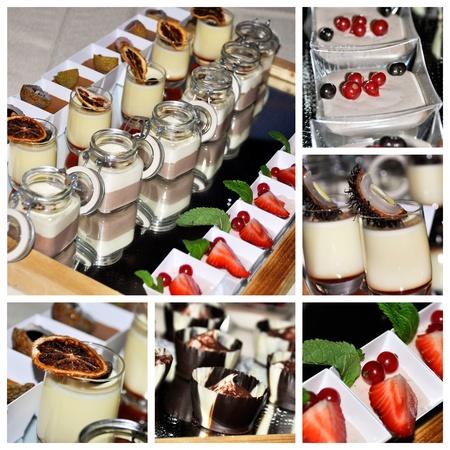Dessert collage photo