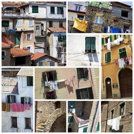 Old italian houses Stock Photo - 10466450