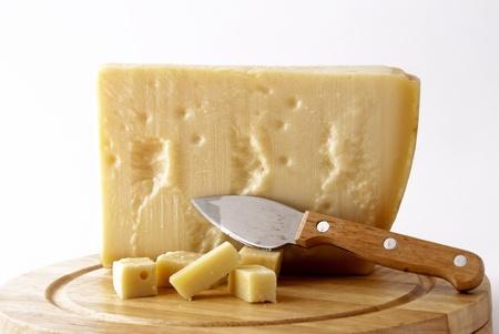 parmesan: Italian cheese - grana padano