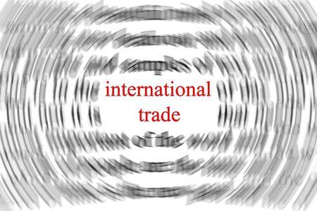 international money: International trade