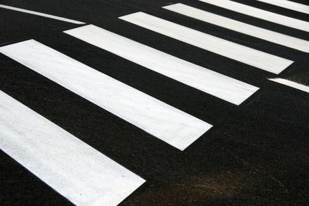gyalogátkelőhely zebra Stock fotó