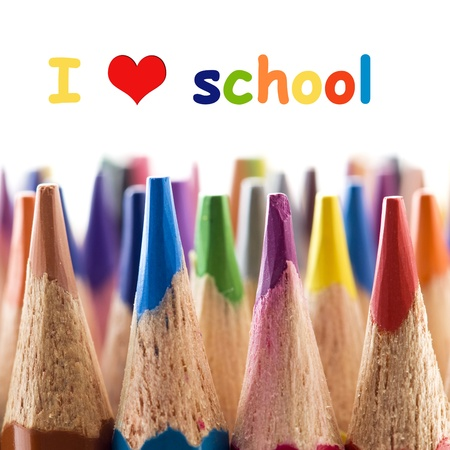 I love school Stock Photo - 11855140