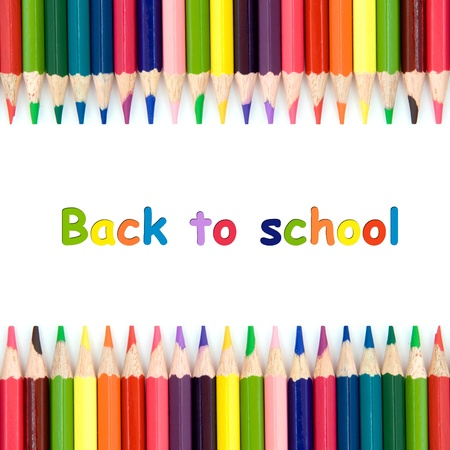 multi colors: Back to school