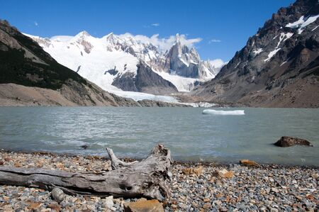 torre: The famous mountaon Cerro Torre in  Argentina - South America
