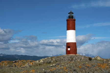 lighthouse - in the Beagle Channel Patagonia Argentina photo