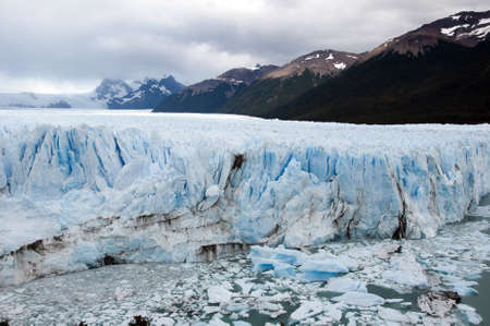 perito moreno: The famous Perito Moreno glacier in Argentina - South America