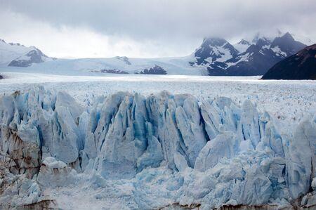 The famous Perito Moreno glacier in Argentina - South America photo