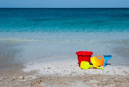 beach toys: Children