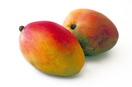 mango on white background Stock Photo - 15143046